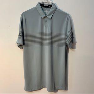Nike Dri Fit NWT Gray Golf Shirt Size Medium